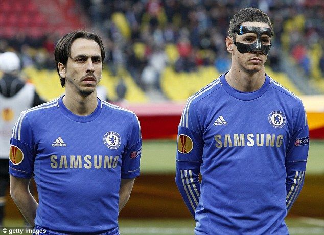 'Mishandled': Benayoun was targeted with anti-Semitic comments from his own supporters against Liverpool earlier in the season after suggesting the transfer of £50m Fernando Torres (right) was 'mishandled'