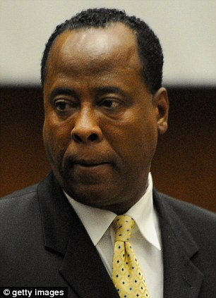Guilty: Dr. Conrad Murray was sentenced to four years for administering a fatal does of propofol to the singer to help him sleep