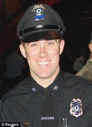 Massachusetts Bay Transportation Authority (MBTA) police officer Richard Donohue Jr. Donahue was injured in a shootout late on April 18, 2013 with Boston Marathon bombing suspects Tamerlan and DzhokharTsarnaev