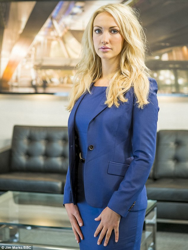 A rare thing: The Apprentice candidate Leah Totton is attractive, clever... and a WAG!