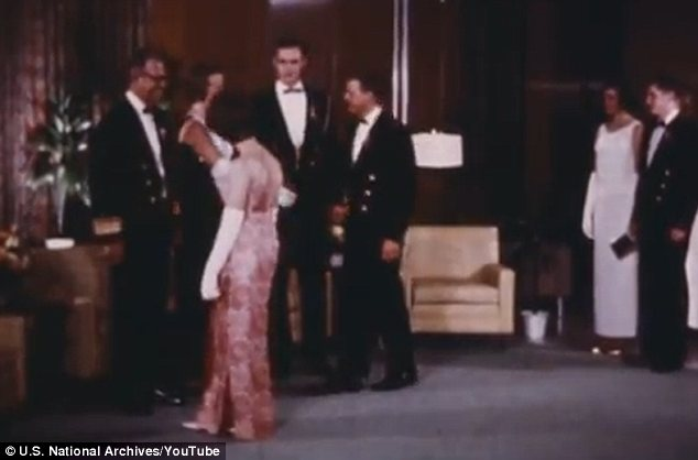 Formal: The 1967 clip showcases a number of different events including a ceremonial ball