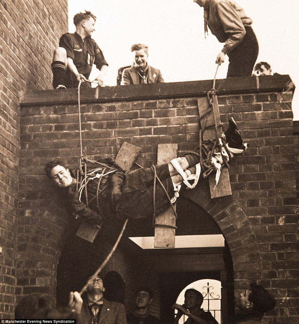 These photographs, taken between the 1930s and 1950s, shows scouts certainly knew how to have fun in the old days