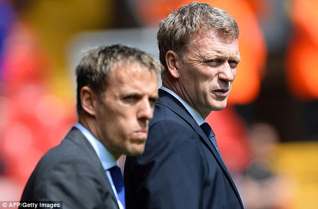 Apprentice: Phil Neville could yet take his first steps into management