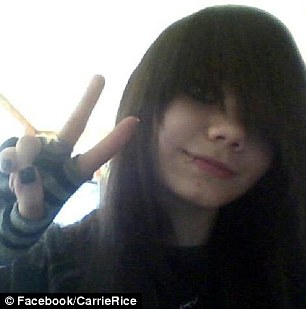Bullying: Rice's older sister, who goes by 'Moka,' said her sister was driven to suicide by bullies at school
