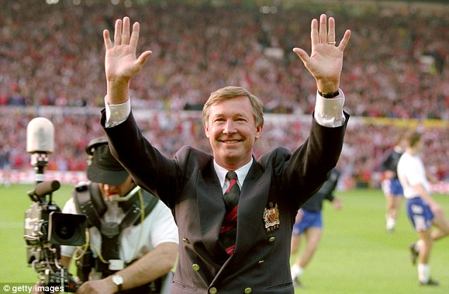 End of an era: Sir Alex Ferguson retired from his job as manager of Manchester United