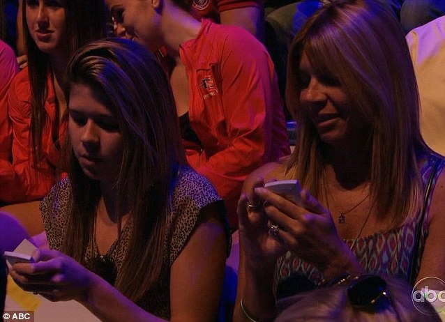Not up to the judges: It was down to the studio audience to vote on a winner