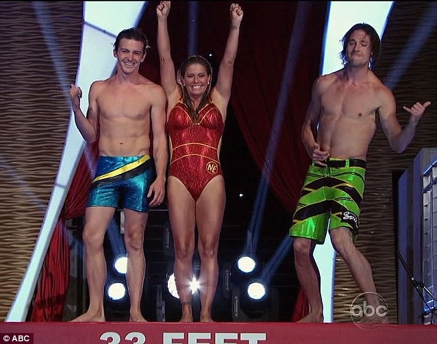 The final three: Drake Bell, Nicole Eggert and Rory Bushfield reached the last episode of the first season