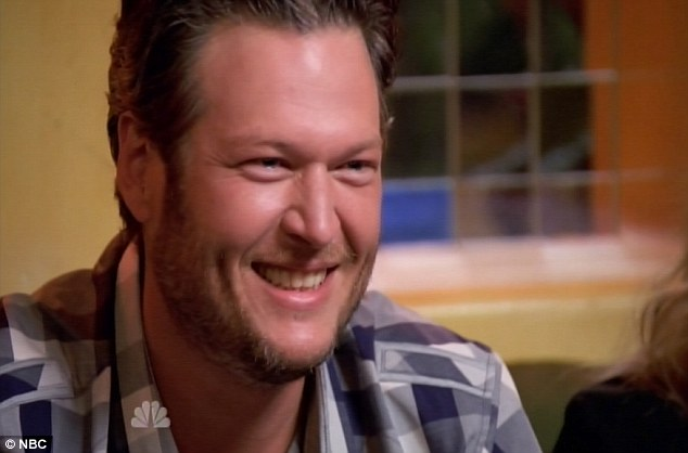 Blind ambition: Blake has remained hell-bent on bringing a country singer to the competition's final round