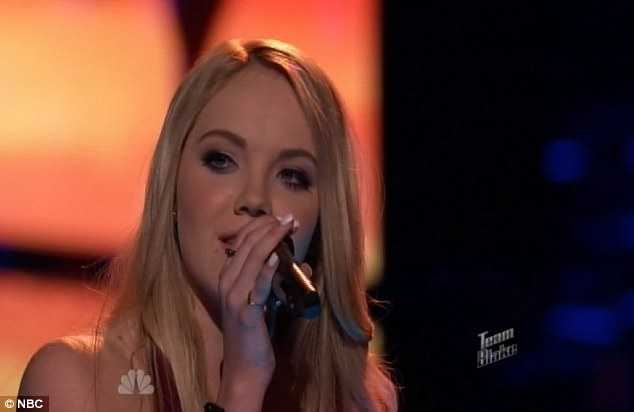 Inching toward the finish line: Danielle Bradbery became to contestant to beat