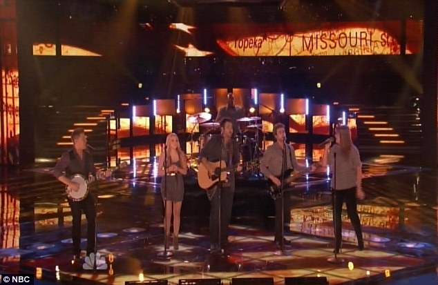 Positive results: The practice session helped them to perfect their performance of Little Big Town's Boondocks