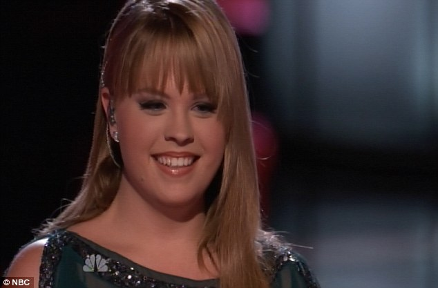 Due praise: The judges showered Holly with compliments after her rousing rendition of LeAnn Rimes hit How Do I Live