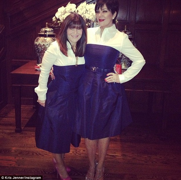 krisjenner Fun night with my best friend in my life that I want to marry @shellibird1 #bobsies. Oops!!