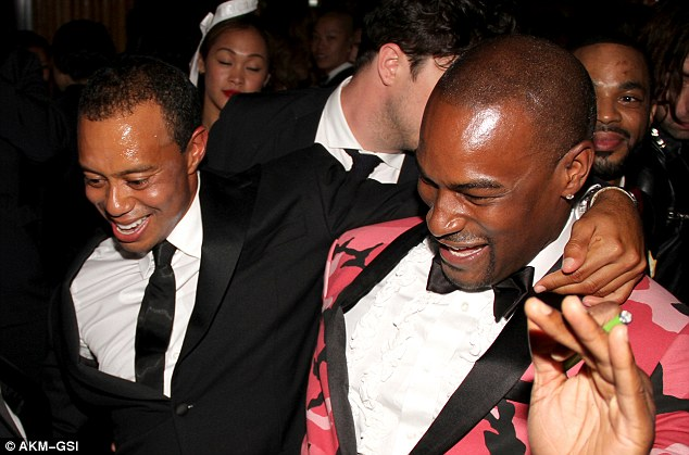 The Roc boys: Tiger and Tyson took over the after party with their dance moves