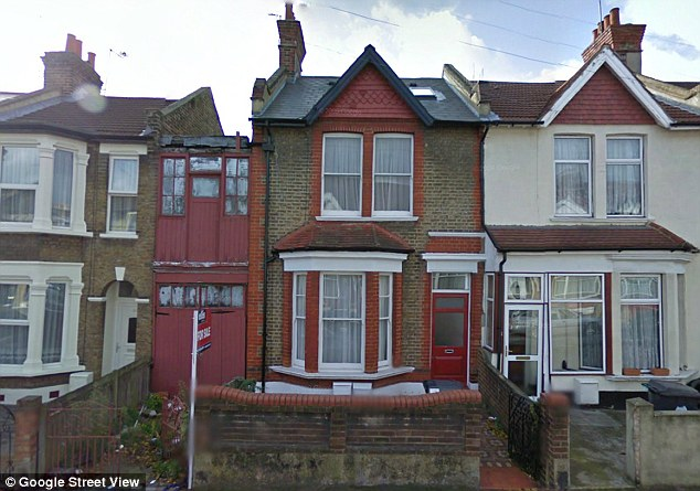 A Google Street View image of the property, showing how it used to look