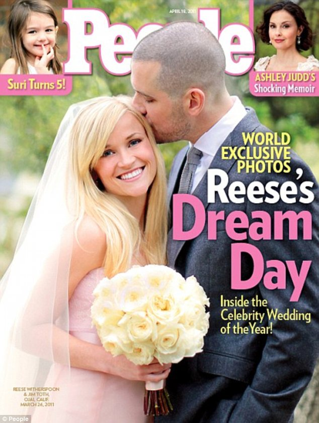 'Awful and disrespectful': Tricianne claims Reese's father almost refused to walk her down the aisle at her 2011 wedding to Jim because of her bad behaviour