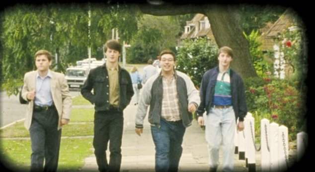 Back in the day: The film tells the story of five friends who return to a town to complete a pub crawl they never finished