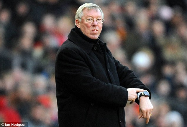 Retiring: Ferguson announced yesterday that he will retire at the end of this season