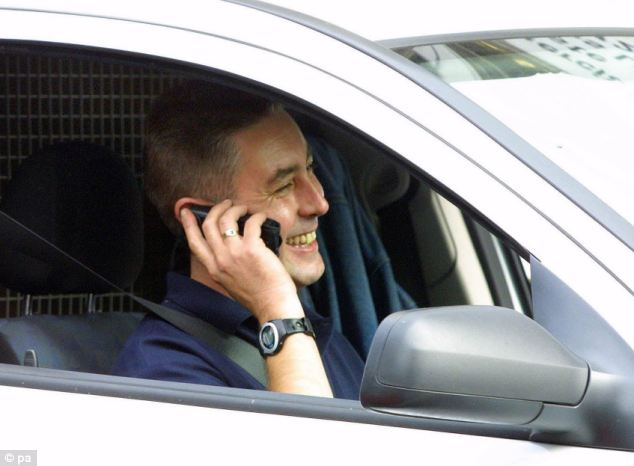 (File picture) Ministers plan to increase the fixed penalty for the offence of using a hand-held device while driving - whether to text or make calls - from £60 to £90