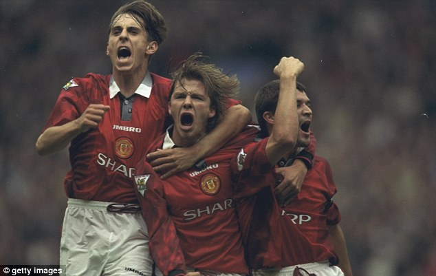 Team building: Ferguson was able to re-mould his United side on a regular basis throughout his career