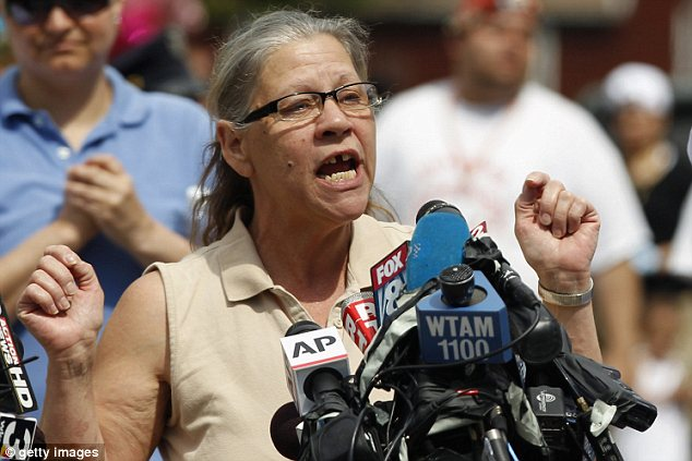 A mother's pain: Gina DeJesus' mother Nancy Ruiz, pictured, says she would forgive suspect Ariel Castro if she stood face-to-face with him again
