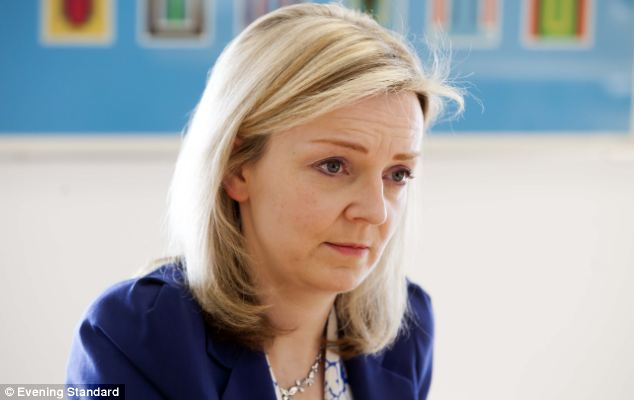 Ratio reform: Education minister Elizabeth Truss has championed changes to the number of children nurseries can look after