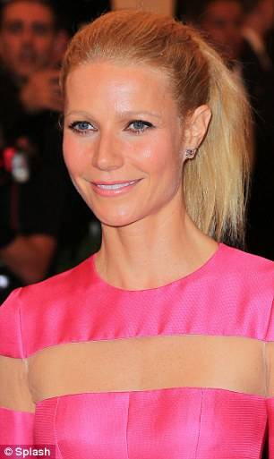 Showbiz pals: Gwyneth and Miranda struck up a bond at the 2013 Met Ball, and the Oscar-winning actress wasted no time in gushing over the Australian model's beauty
