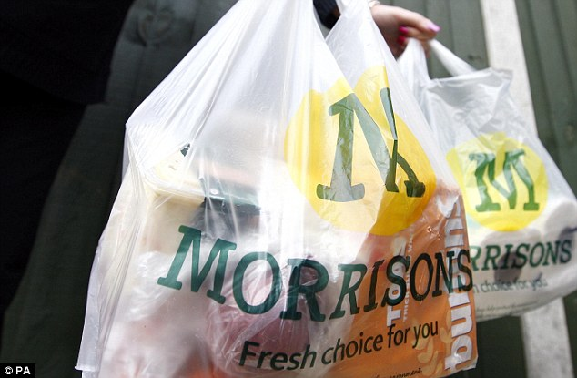 Growing: Morrisons said it was 'on track' to meet its target of having 100 convenience stores by the end of the year