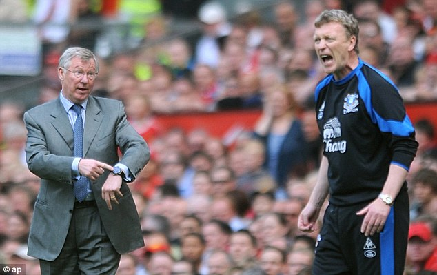 Friends and foes: Moyes was approached by Ferguson as early as 1998