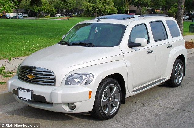 Car: There is no description of the suspect but he is believed to be driving a silver, 2006 Chevy HHR PC, with Ohio license plate #FNN5412 (file photo)