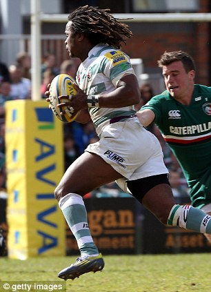 Uncapped: Kyle Eastmond (left) and Marland Yarde (right) will be given a chance