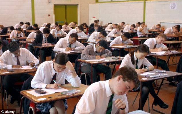 The Institute for Fiscal Studies think-tank said younger pupils should be able to pass tests at seven, 14 and their GCSEs at 16 with lower marks set on a sliding scale according to the month in which they were born