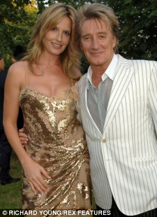 Rod Stewart sings the praises of his wife Penny Lancaster on his new album, Time