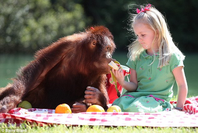 You drive me bananas: Emily gives Rishi a hand with his favourite snack