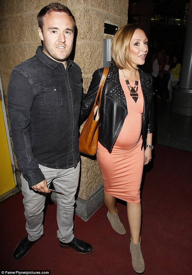 Amber alert: Pregnancy is certainly suiting the former Wild At Heart actress