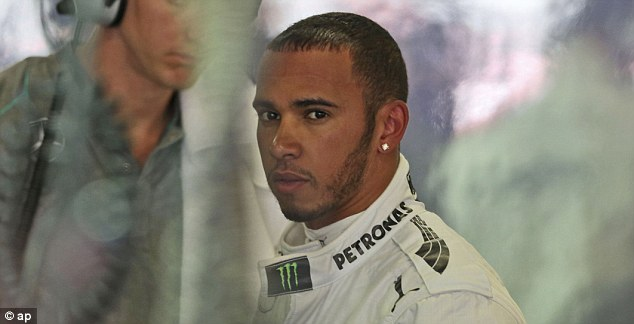 Six of the best: Lewis Hamilton has enjoyed an impressive start to his Mercedes career