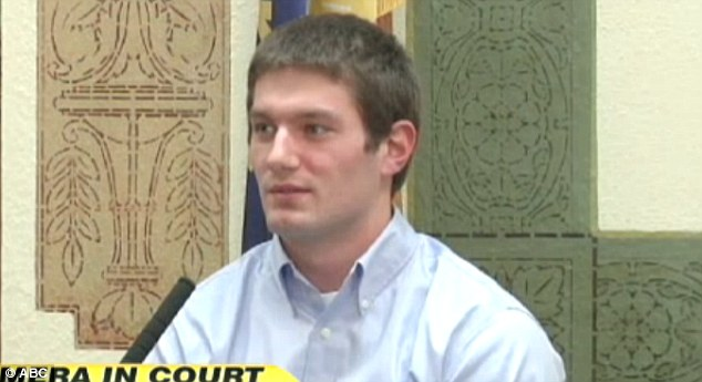 Innocent: Former Montana quarterback, Jordan Johnson, was acquitted of rape earlier this year