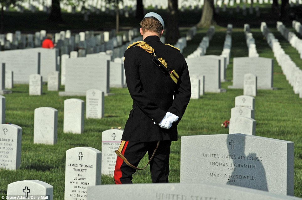Laid to rest: Arlington is the final resting place for 400,000 servicemen and women, veterans and families