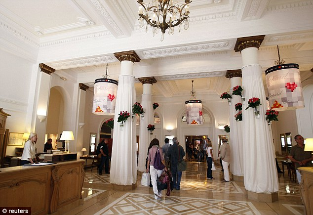 High-end hotels: The more experienced escorts target Cannes' luxury hotels 'where all the Arabs stay,' explains Mr Nahas. After 10pm, call girls perch in the lobby waiting for prospective clients to check them out