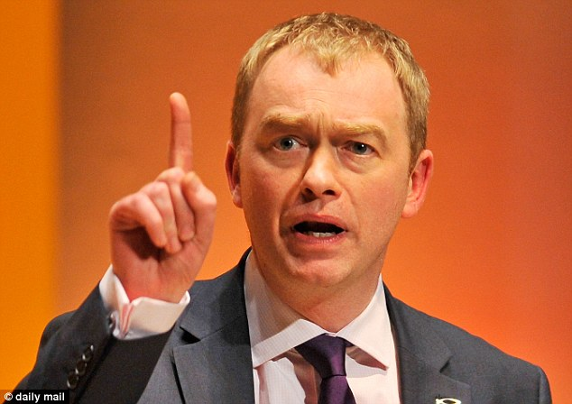 Party president Tim Farron admitted the Lib Dems had been 'obliterated' in the South Shields by-election. (The Lib Dem candidate came seventh, just ahead of the Monster Raving Loony Party and he lost his deposit)