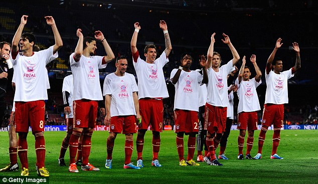 New challenge: Bayern Munich have led the German charge in Europe this season
