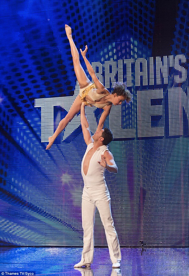 Are you sure it's Britain's Got Talent Simon? Dutch duo Martin and Marielle are one of many foreign performers this year