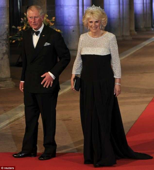 It is noticeable that at public engagements, a bejewelled Camilla seemed to glow while the prince sometimes looks miserable
