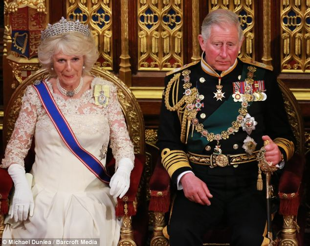 Camilla enjoys her public duties ¿ mainly because she has been able to help charities she is interested in