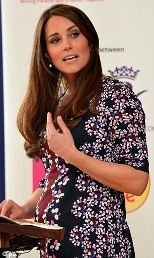 Kate makes a speech at The Willows Primary School, Wythenshawe, Manchester on April 23