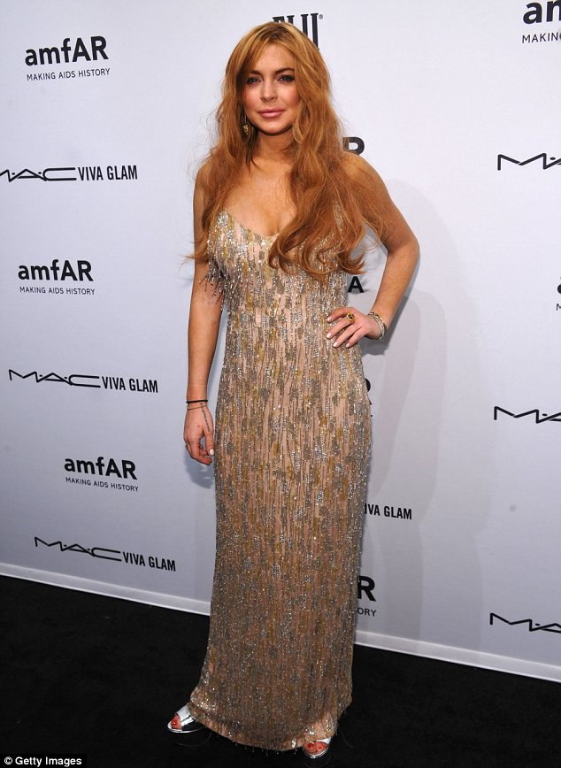 Cut off: Lindsay Lohan's doctors at rehab are said to have cut her off from Adderrall, according to reports