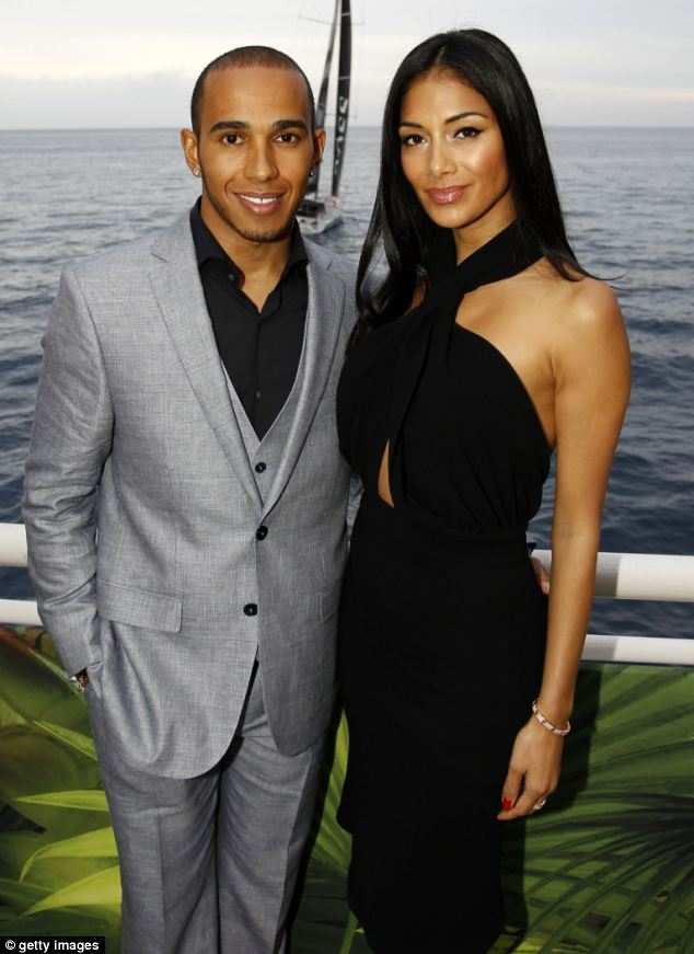 Boyfriend: The singer is dating British Formula 1 driver Lewis Hamilton