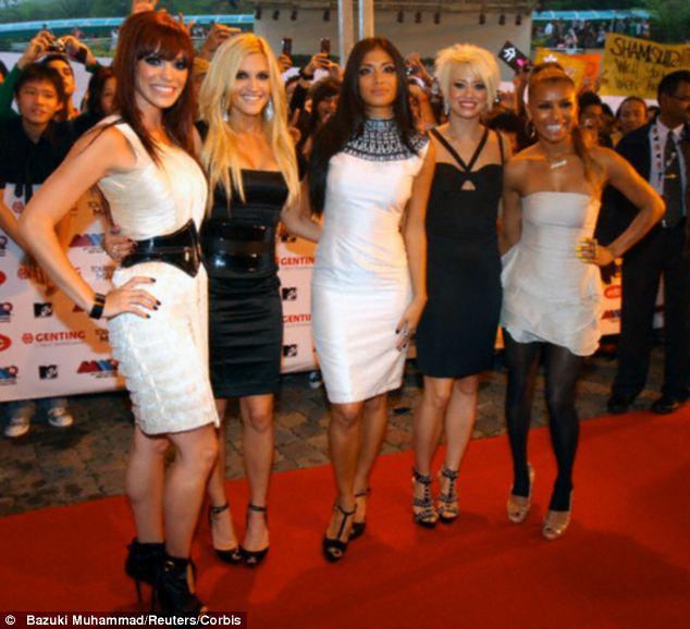 Split: The Pussy Cat Dolls broke up in 2010