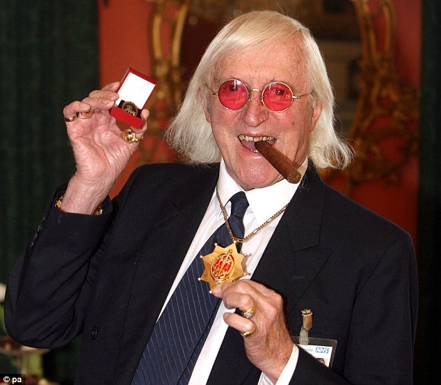 Expanding: Operation Yewtree detectives are investigating five new celebrities in the wake of the Jimmy Savile scandal
