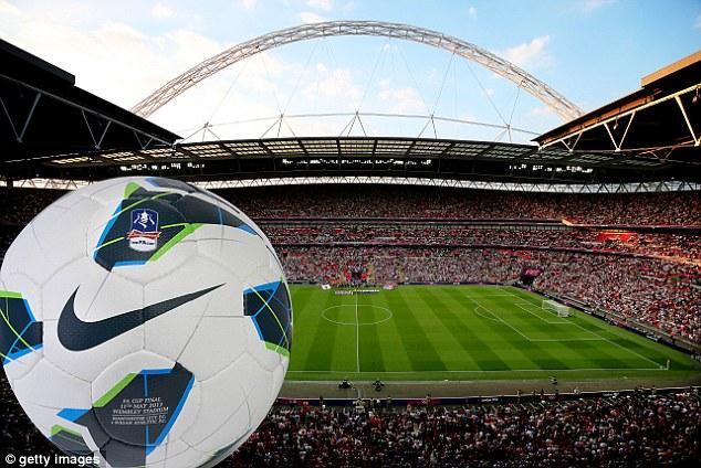 Wembley match ball