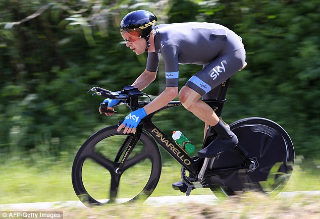 Bouncing back from adversity: Wiggins toiled and toiled after a frustrating stop to change a tyre